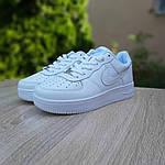 Мужские кроссовки Nike Air Force 1 ' 82 (белые) 10235, фото 6