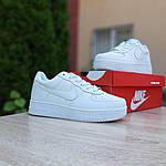 Мужские кроссовки Nike Air Force 1 ' 82 (белые) 10235, фото 7