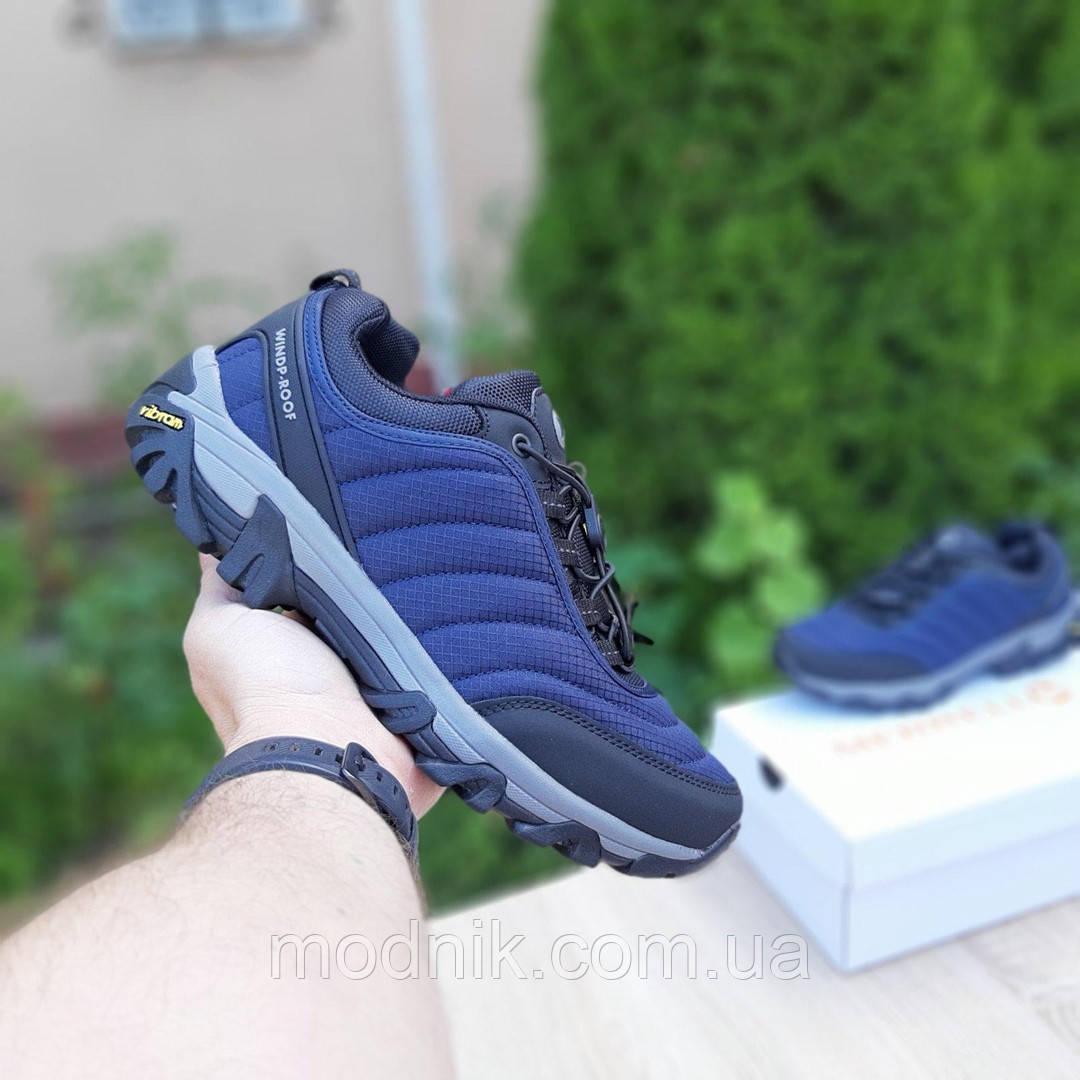 Мужские зимние кроссовки Merrell Vibram (синие) 3505