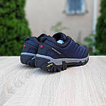 Мужские зимние кроссовки Merrell Vibram (синие) 3505, фото 2