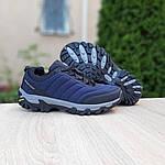 Мужские зимние кроссовки Merrell Vibram (синие) 3505, фото 3