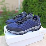 Мужские зимние кроссовки Merrell Vibram (синие) 3505, фото 4