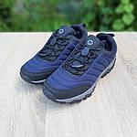 Мужские зимние кроссовки Merrell Vibram (синие) 3505, фото 6