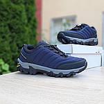 Мужские зимние кроссовки Merrell Vibram (синие) 3505, фото 7