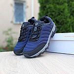 Мужские зимние кроссовки Merrell Vibram (синие) 3505, фото 9
