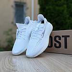 Женские кроссовки Adidas Yeezy Boost 350 (белые) 20189, фото 6