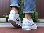 Мужские кроссовки Nike Air Force 1 Low x Dior (бело-черные) 9692, фото 3
