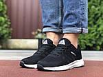Мужские кроссовки Adidas Neo (черно-белые) 9699, фото 4