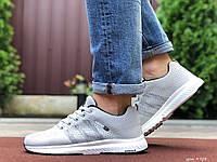 Мужские кроссовки Adidas Neo (светло-серые) 9703
