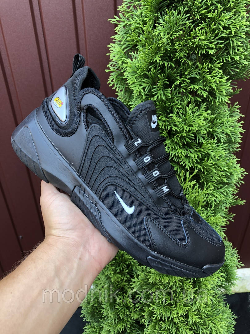 Мужские кроссовки Nike Zoom 2K (черные) 9719