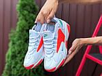 Женские кроссовки Nike Zoom 2K (бело-оранжевые) 9725, фото 2