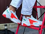 Женские кроссовки Nike Zoom 2K (бело-оранжевые) 9725, фото 3