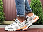 Мужские кроссовки Balenciaga Track (белые) 9734, фото 4