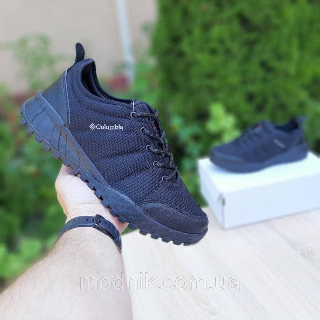 Мужские зимние кроссовки Columbia Fairbanks Low (черные) 3507
