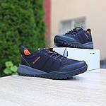 Мужские зимние кроссовки Columbia Fairbanks Low (черно-оранжевые) 3508, фото 7