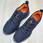 Мужские зимние кроссовки Columbia Fairbanks Low (черно-оранжевые) 3508, фото 9