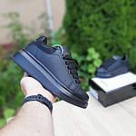 Женские кроссовки Alexander McQueen (черные) 20191, фото 2