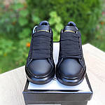 Женские кроссовки Alexander McQueen (черные) 20191, фото 6