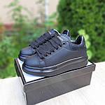 Женские кроссовки Alexander McQueen (черные) 20191, фото 9