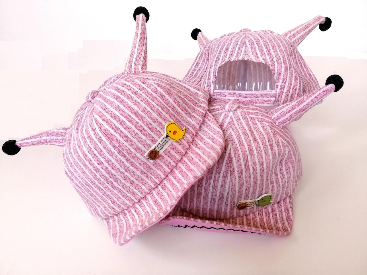 Детская кепка с рожками