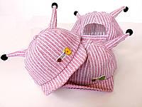 Детская кепка с рожками, фото 1