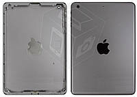 Задняя крышка для iPad Mini 2 Retina (версия Wi-Fi), оригинал (черный, Space Gray)