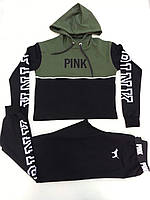 Женский спортивный молодежный костюм PINK