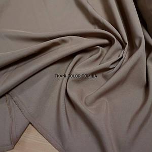 Костюмная ткань габардин темно-бежевый