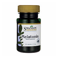 Мелатонин 3 мг, Swanson, 60 капсул