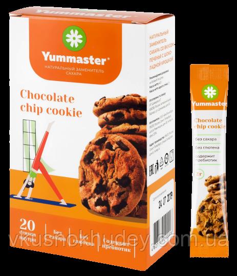 Сахарозаменитель в стиках Yummaster  вкус Печенье с Шоколадной Крошкой (2 грамма)
