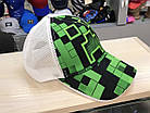 Minecraft Кепка майнкрафт 52р.(S), фото 3