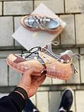 🔥 Кросівки жіночі спортивні повсякденні Jimmy Choo Pink (джиммі чу рожеві), фото 2