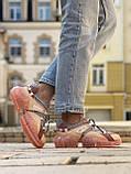 🔥 Кросівки жіночі спортивні повсякденні Jimmy Choo Pink (джиммі чу рожеві), фото 6