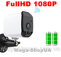 Уличная беспроводная WiFi IP камера видеонаблюдения на аккумуляторе. Камера зовнішнього відеоспостереження G4J