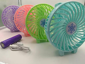 Мини вентилятор ручной mini fan