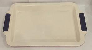 9802-1 Прямоугольная форма с керамическим покрытием 26.5*30.5*4см(шт)