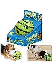 Игрушка для собак мяч WOBBLE WAG GIGGLE