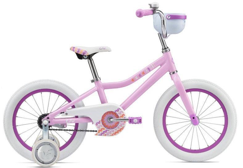 Детский Велосипед Liv ADORE 16 light blue\lavender (GT)