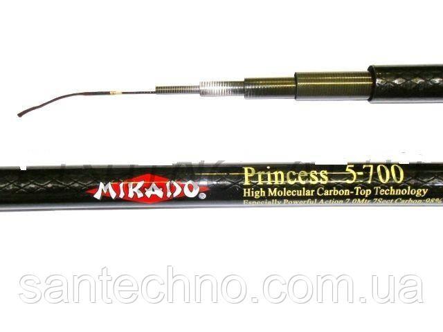 Удочка карбоновая маховая Mikado Princess pole 8m