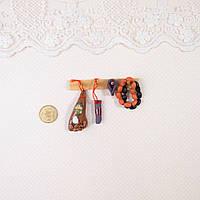 """1:12 Миниатюра """"Вешалка с копчёностями """" 6.3 см, фото 1"""
