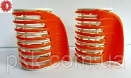Бигуди для завивки волос с крабом большие диаметр 40 мм в упаковке 5 штук