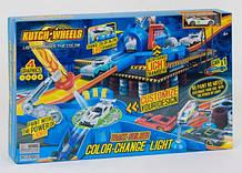 """Автотрек """"Световой удар"""" S8883 машинка меняет цвет, световые принты, Led-ручка, Led-подсветка"""