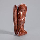 Яшма красная, статуэтка Ангел, 387ФГЯ, фото 2
