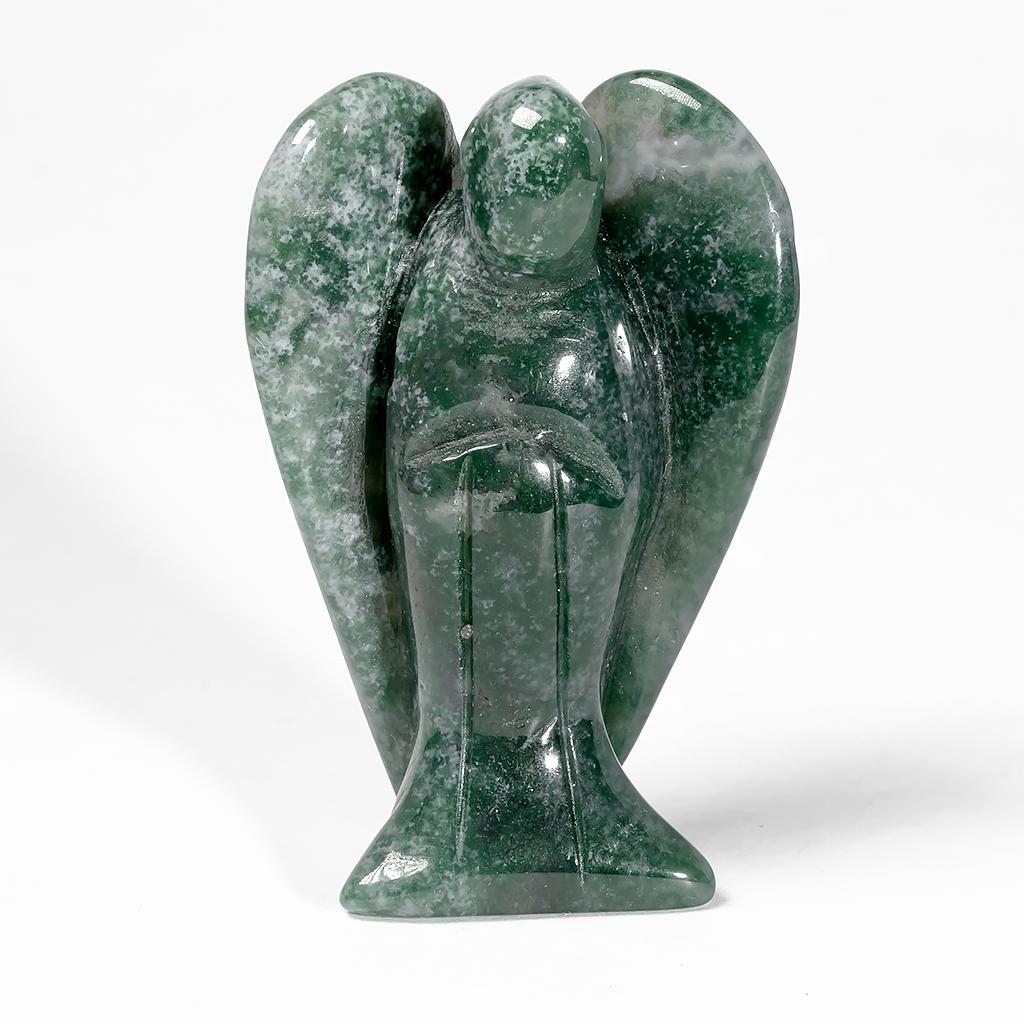 Статуэтка Ангел из зеленой яшмы, 498ФГЯ