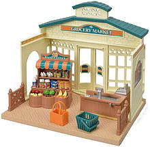Sylvanian Families Calico Critters Магазин бакалеи супермаркет 5315 Grocery Market Collectable