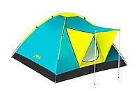 Палатка туристическая 4 х местная Bestway кемпинговая   2,10*2,10 м