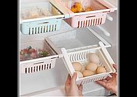 Раздвижной пластиковый контейнер для хранения продуктов Storage Rack