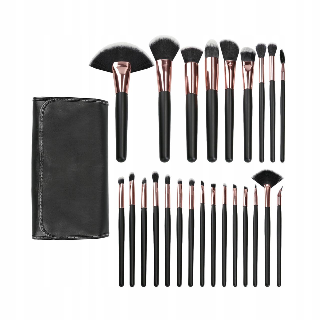 Набор кистей для макияжа из 24 шт Tools For Beauty make-up brushes