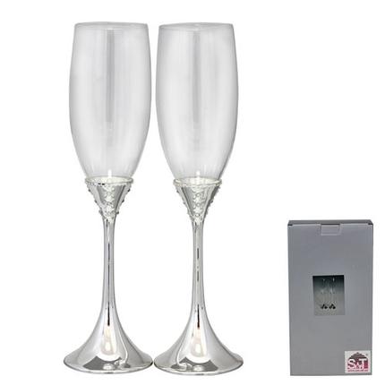 Набор бокалов для шампанского Грация 2 шт 22 0мл 7047-17, фото 2