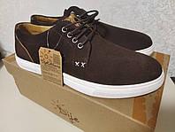 Мужские замшевые туфли/мокасины Dije California Lone Star Shoes. Оригинал